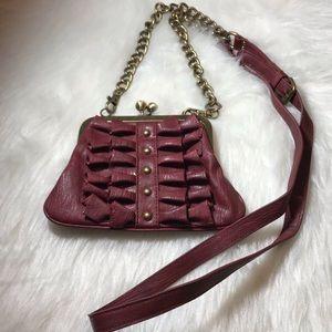 Jessica Simpson Crossbody Wallet Purse Red